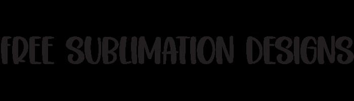 Free Sublimation Designs
