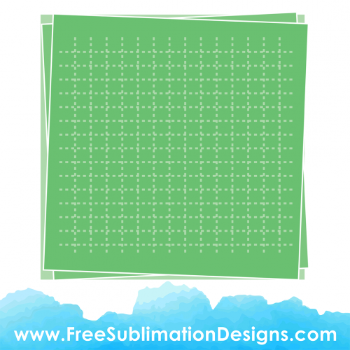 Free Sublimation Print Green Bullet Paper Background