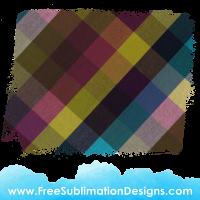 Free Sublimation Print Tartan Vintage Distressed Background