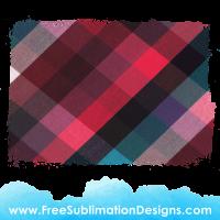 Free Sublimation Print Tartan Distressed Vintage Background