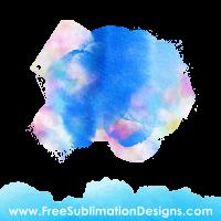Free Sublimation Print Watercolor Paints Background