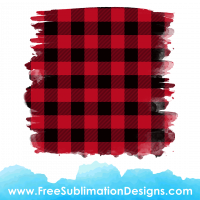 Free Sublimation Print Red Tartan Distressed Background