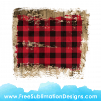 Free Sublimation Print Red Tartan Wood Texture Distressed Background