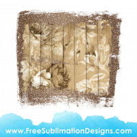 Free Sublimation Print Glitter Wood Texture Flowers Distressed Background