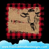 Free Sublimation Print Burlap Tartan Farmhouse Distressed Background