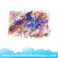 Free Sublimation Print Watercolor Distressed Background