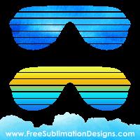 Sunglasses Shades Sublimation Print