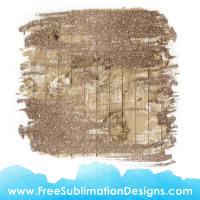 Glitter Wood Texture Floral Background Sublimation Print