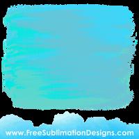 Blue Distressed Grunge Background Sublimation Print